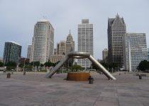 Skyline Detroit